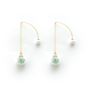 [莳] - Cloris Gift Flower Earrings