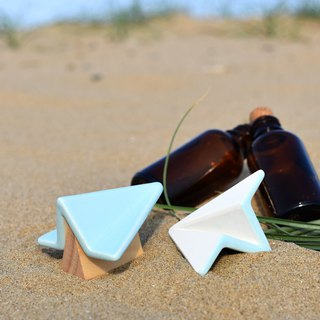 【Scaling Stone】Paper Aircraft Model Diffusion Stone - Sea Color
