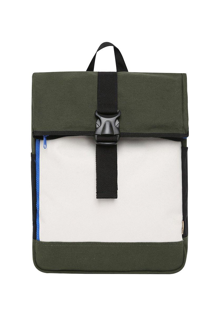 軍綠學院後背包