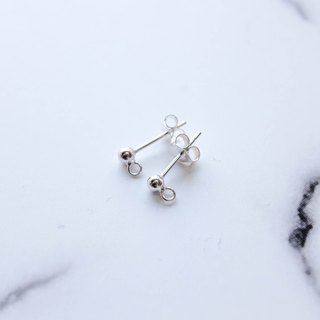 Material Selection - 925 Sterling Silver Ear Pin