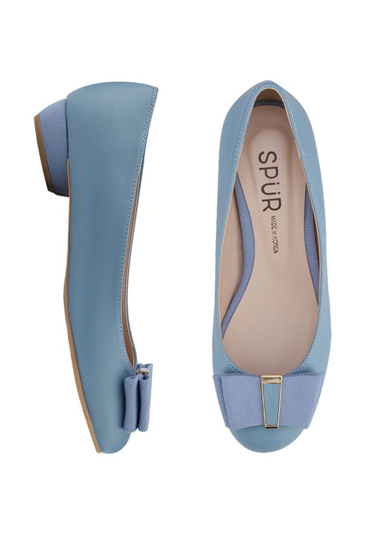 SPUR Neatly girl flats LS7006 SKY BLUE - Designer SPUR