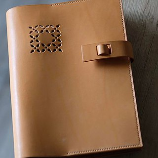 A5 Size LEATHER NOTEBOOK COVER【with notebook / no pen】