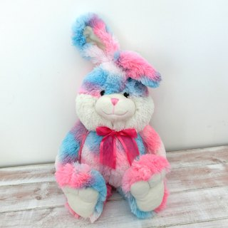 CANDY BEAR 18-inch long-legged rabbit - bubble gum