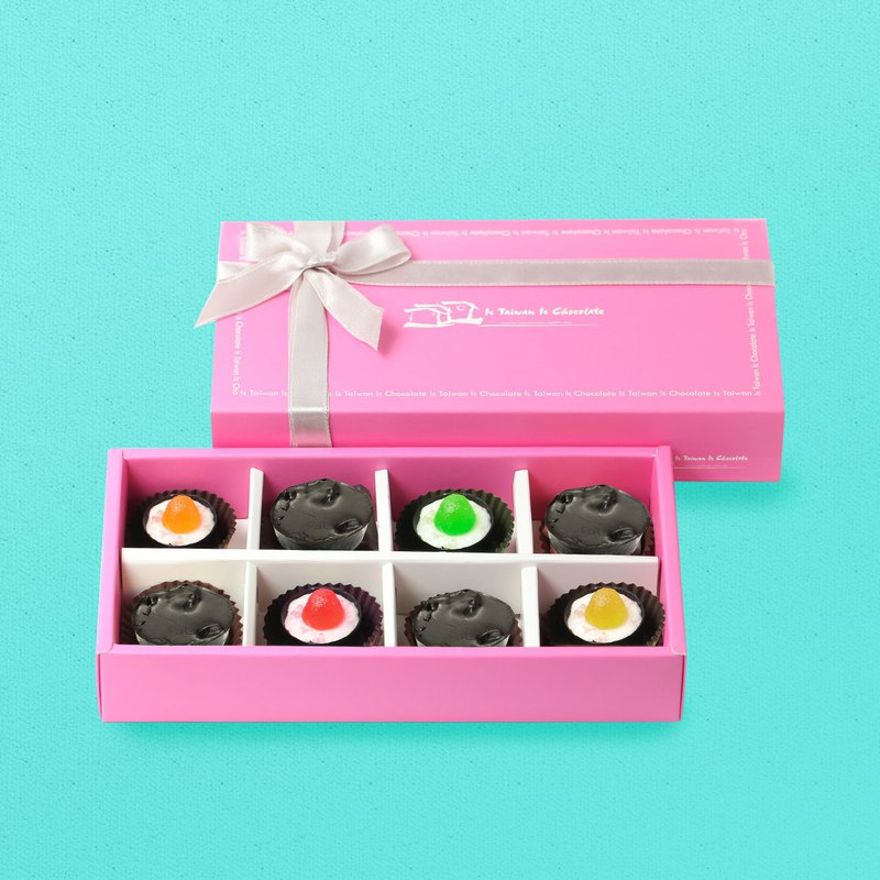 青春果漾 八入巧克力禮盒