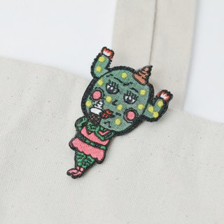 Belongs To J. Embroidery pins - Ice Cream Lover