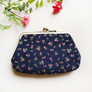 Little red flower mouth buns / coin purse [made in Taiwan]