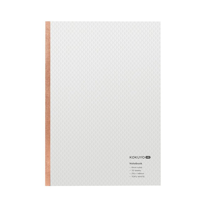 kokuyo ME Notebook 70 pcs B A5-White