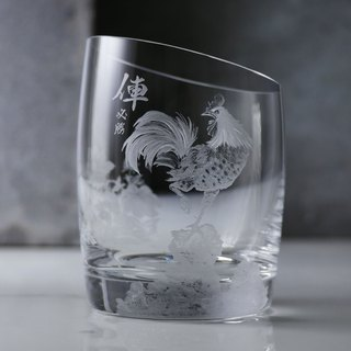 300cc [Zodiac Chicken] Chinese style Eva Solo Danish 14 Degree Whiskey Cup