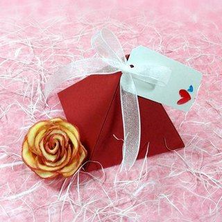 Wei Tian moisture wedding small things - apple dried roses (exclusive series) - Fun Pyramid