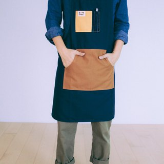 Brut Cake Washed Canvas Full-body Pocket Apron Kitchen Work Use For Households Durable Good Conditioning Storage (1)