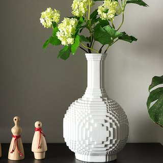 AINA Oriental impression ceramic lamp