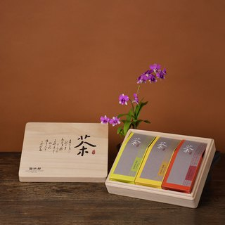 Tao Zuofang │ carefully selected tea box gift (frozen top + jasper + Wenshan)