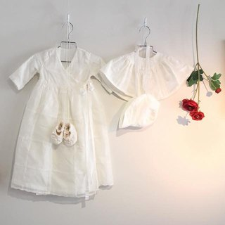 The first baby gift White ceremony set