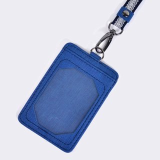 [Dogyball] will be simple and practical portable accessories detachable identification card Flatpocket blue