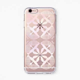 iPhone Case - Moroccan - for iPhones - Clear Flexible Rubber TPU case J36