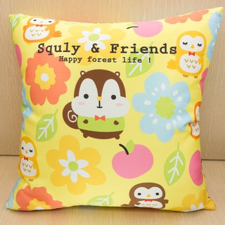 Squly Cushion (big flower)