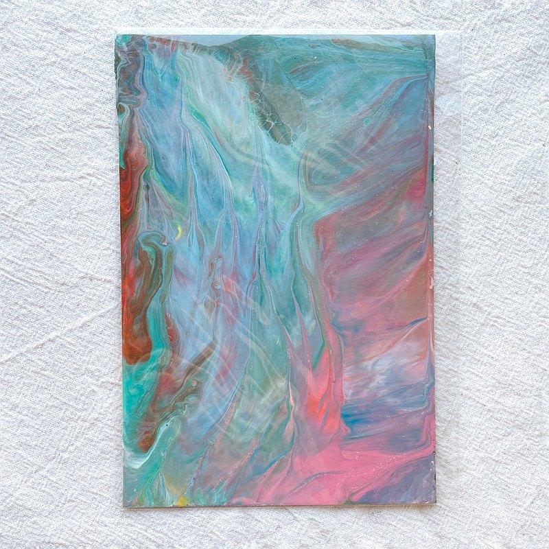 淨化 -原創療癒畫作   非複製   紙畫   卡片   明信片