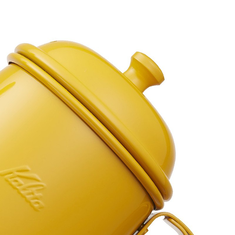【Japan】Kalita│Stainless steel paint slender hand punch pot (700ml)-bright yellow