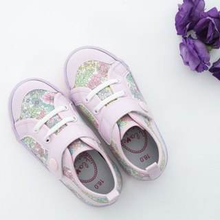 Vivian sweet pink floral casual shoes