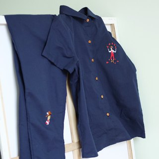 Apple-Farmer Shirt : Blue