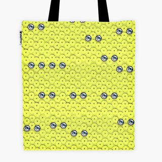 Spot - Filament Canvas Bag - Neon Yellow