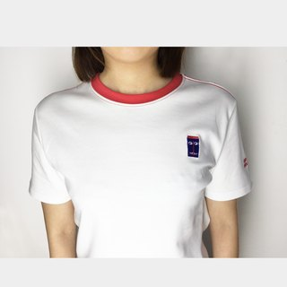 Parents T-shirt original design 40 double-sided polished fine embroidery