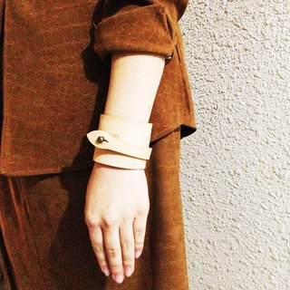 Scroll bracelet Natural Beige