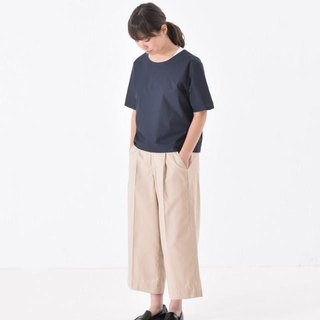 藍色短袖襯衫 half sleeve cotton/nylon shirt