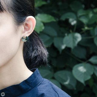 wilderness embroidery earring f. #1