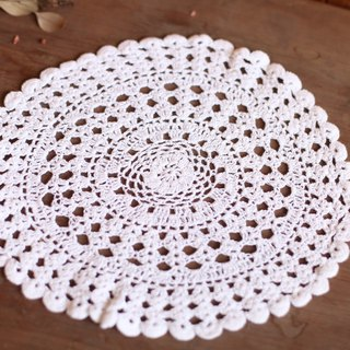 [Good day fetish] Germany vintage antique handmade crochet lace piece -005