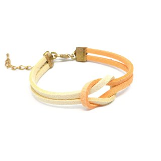 Handmade Simple Stylish Bracelets Rose Gold Series–orange limited