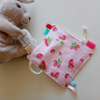 Strawberry Mi Yue gift appease towel paper towel to appease small squares to appease toys