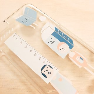 Stationery / Transparent iPhone Case