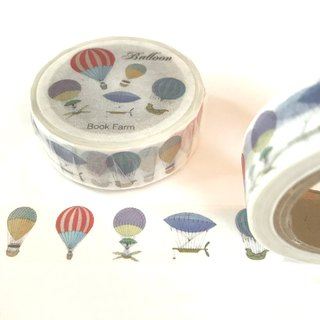 Antique balloon masking tape