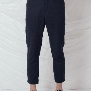 Designer men's cotton 9 pants low crotch pants feet Lun Japanese retro style slacks (custom models)