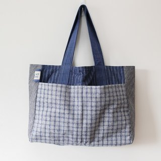 Brut Cake handmade fabric - tote bag (2) , big capacity