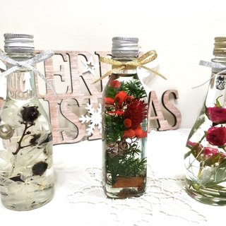 l mini bottle water jump flower l*mind*blessing*healing*ハ ー バ リ ウ ム*Herbarium*decoration*non-withered flower*star flower*immortal flower*exchange gifts