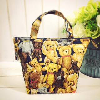 |R• | Zippered waterproof inner bag/universal bag | Teddy Bear's Teddy Bear