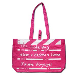 Director Clap Tote Bag - Pink