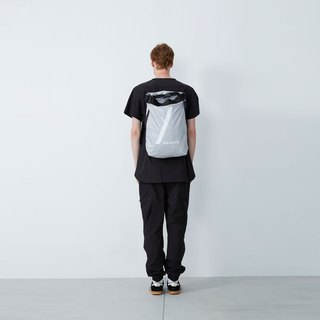 Behind zero - space adjustable backpack - gray