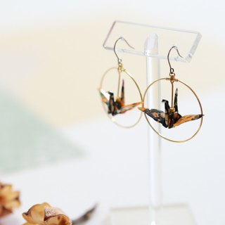 コピー コピー Crane earrings-patternF-