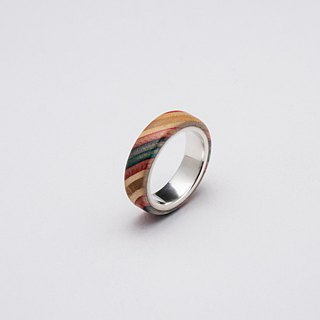 Send wood style ring R0208007
