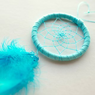 Dream Catcher Material Pack 8cm (with instructional film) - Sky Blue (Minimalism)