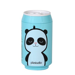 PLAStudio-ECO CAN-280ml-Panda Series-Made from Plant-Sky Blue