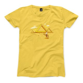 Penrose Triangle - Yellow - Women's T-Shirt