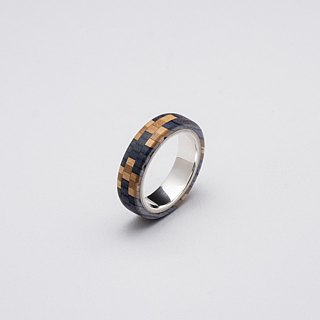 Send wood style ring R0409003