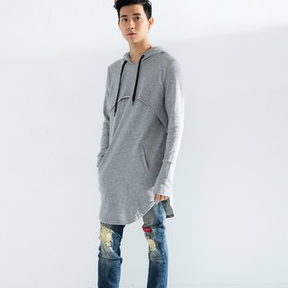 Modeling hooded sweater # 8803
