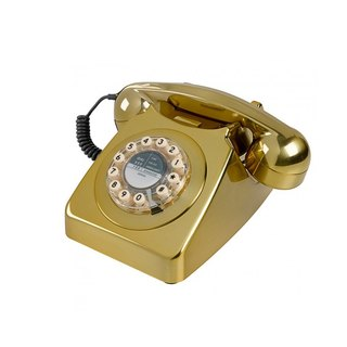 SUSS-UK imports 1950s 746 series retro classic phone / industrial style (luxury gold)