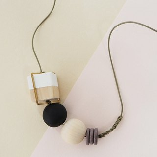 The Geometric Series Necklace – Laura by unit515