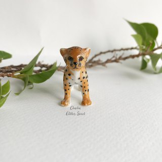 Cheetah - Tiny animal figurine